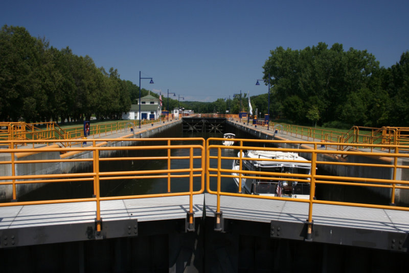 Erie Canal -  Lock 3<BR>July 30, 2007