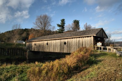 Fitches Covered Bridge<BR>PaD - October 21, 2006