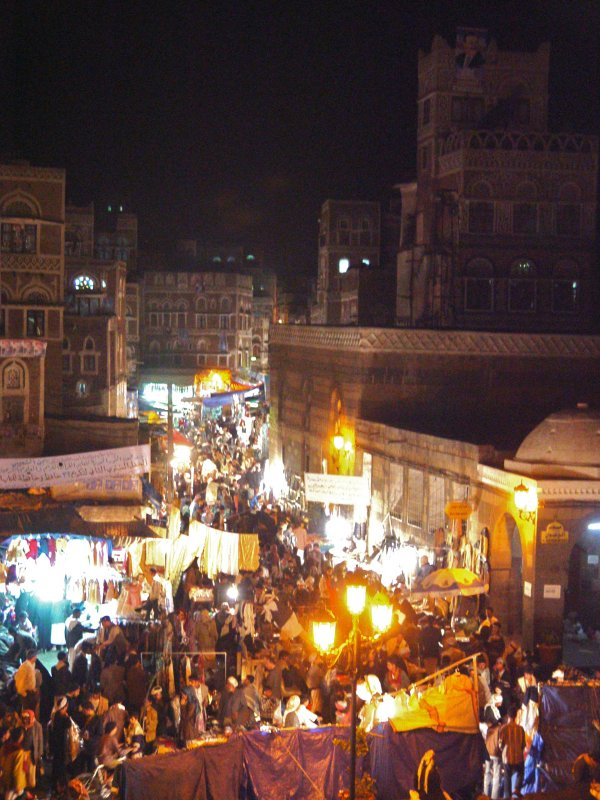 Souk at Night
