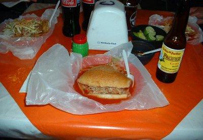 Torta Ahogada Guadalajara, but in Morelia