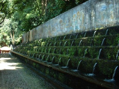 Parque Nacional: Watered wall