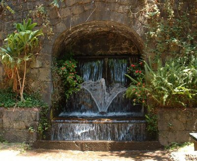 Parque Nacional: Grotto falls fountain