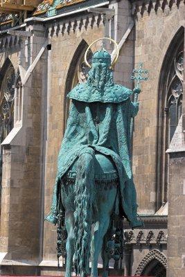 Saint Stephen next to Matthias Church