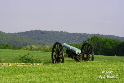 May 25, 2007  -  Artillery Placement, Ridge over Harpers Ferry Road