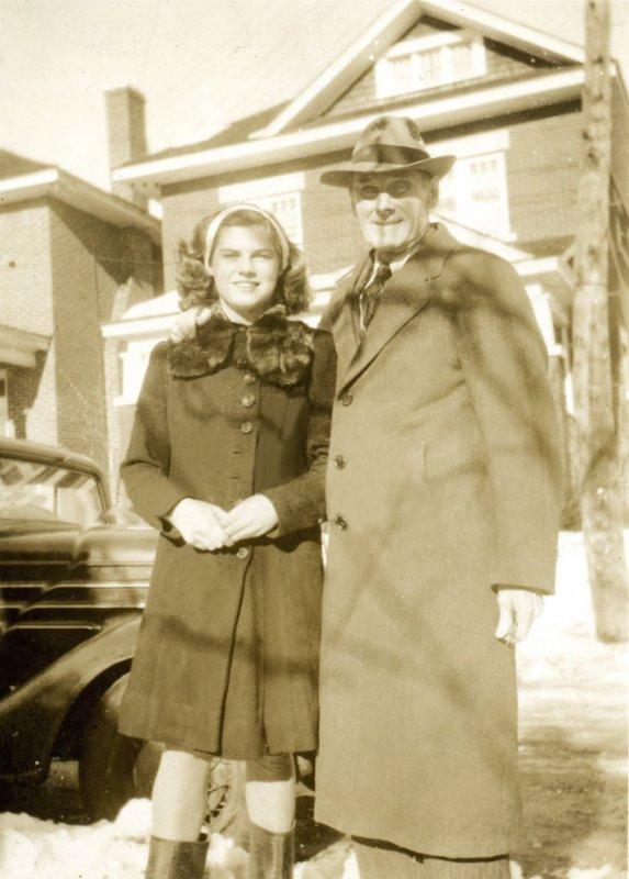 Marian McDonald (later Kay) & Alfred McDonald - undated photo