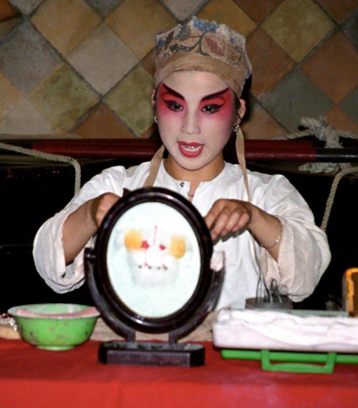 Make-up for Peking Opera