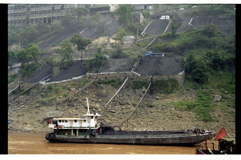 Loading The Coal Barge