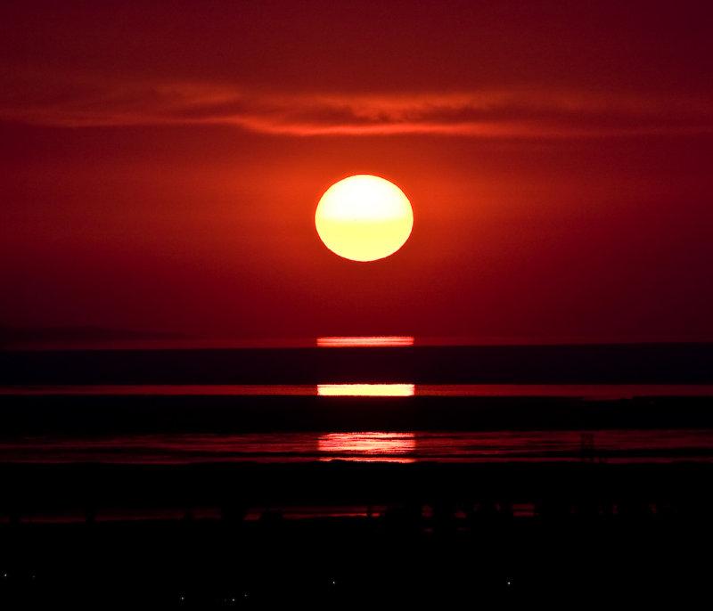 Sunset 7-12-07
