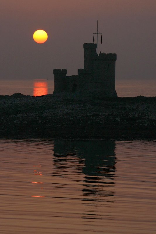 The Tower Of Refuge at Dawn