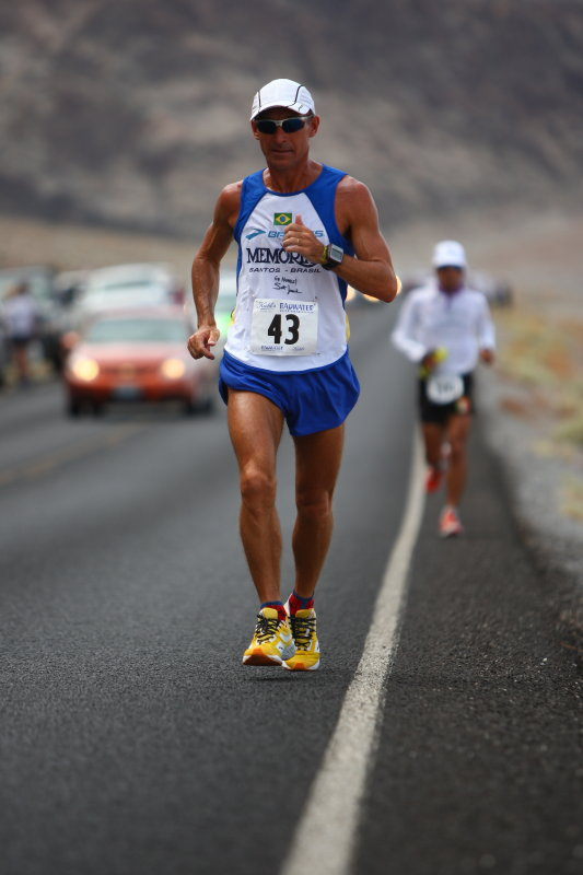 Valmir Nunes will win the race and break the course record