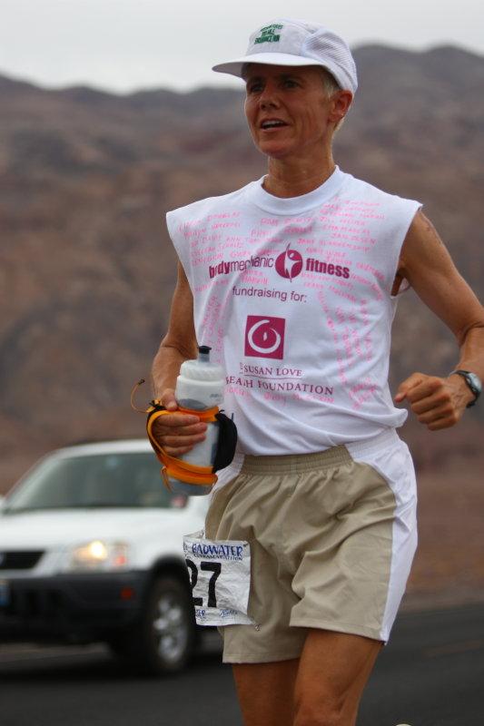 Tracy Thomas - will finish 3rd