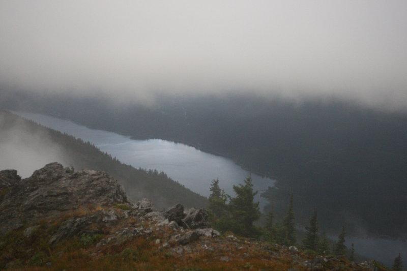 Lake Kachess Peaks Through