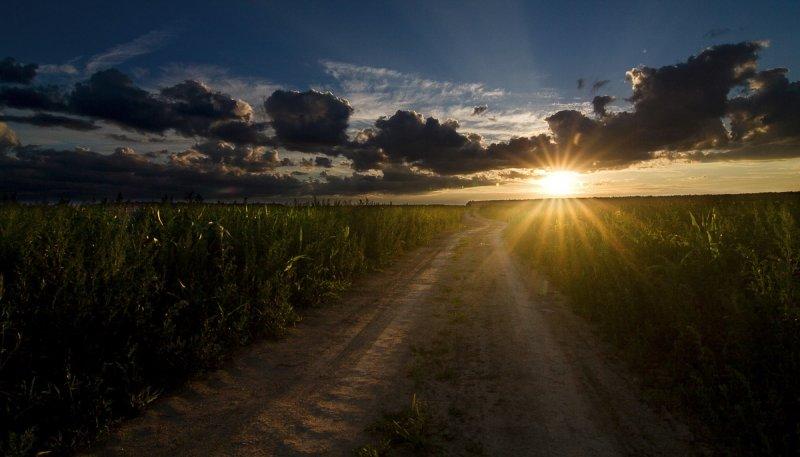 pursuit of setting sun. 2