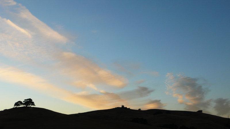 <B>Last Light</B> <BR><FONT SIZE=2>Sonoma-Marin,  California, July, 2007</FONT>