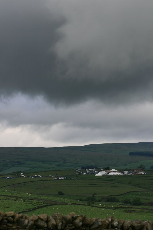 storm clouds over thimbleberry