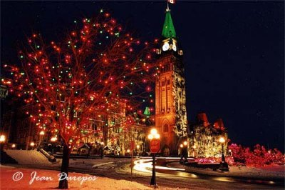 Parliament Hill Festive Lights