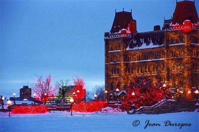 Parliament Hill - Festive Lights