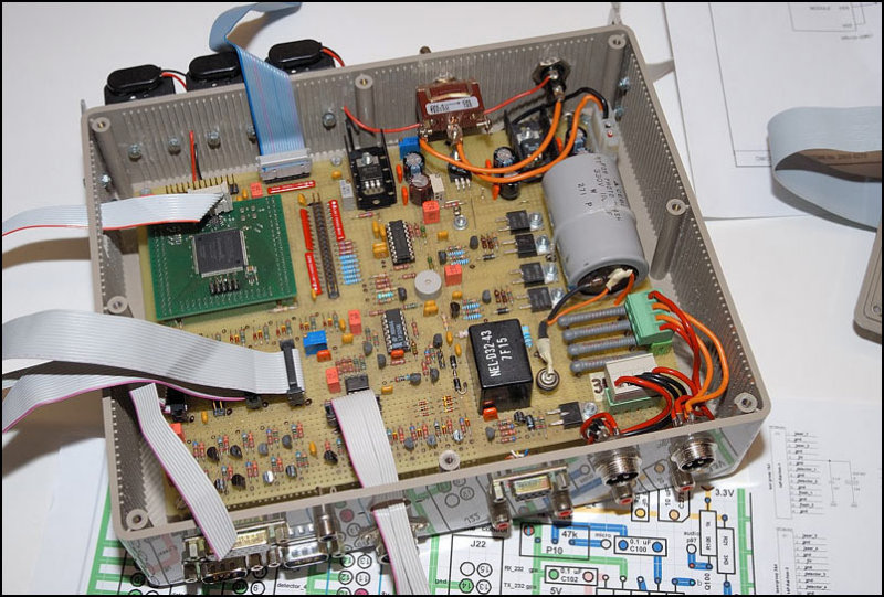 controlbox for laser and camera version 2006  (inside view)
