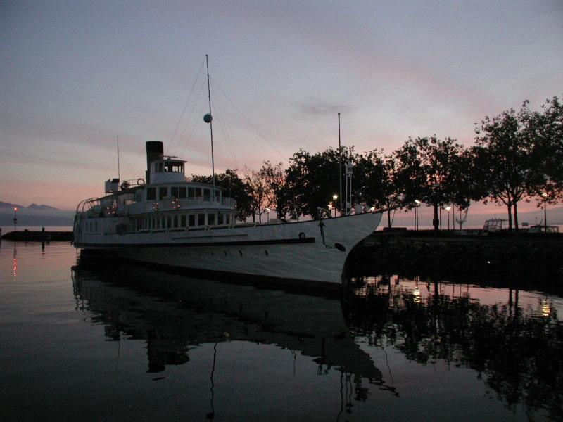 Lake Geneva - Sunset II