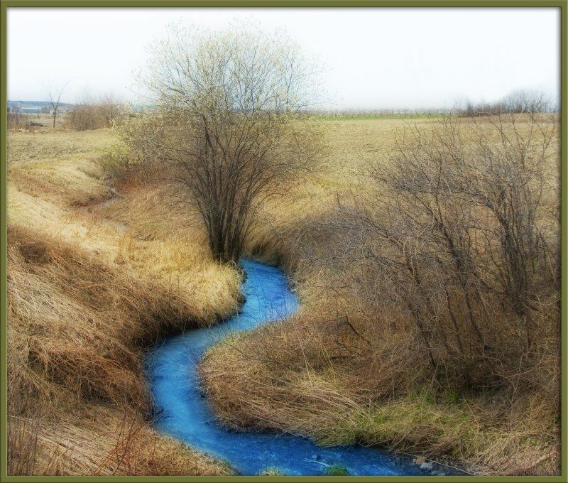 my blue river