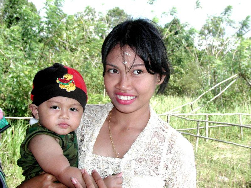 Balinese settlement on Belitung