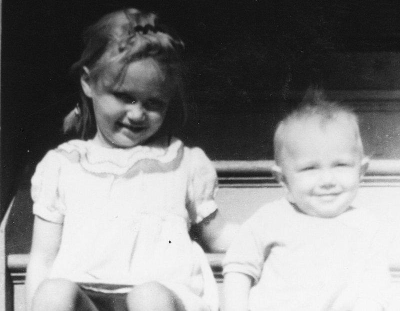 image6.jpg Roseanne, me Charles baby.