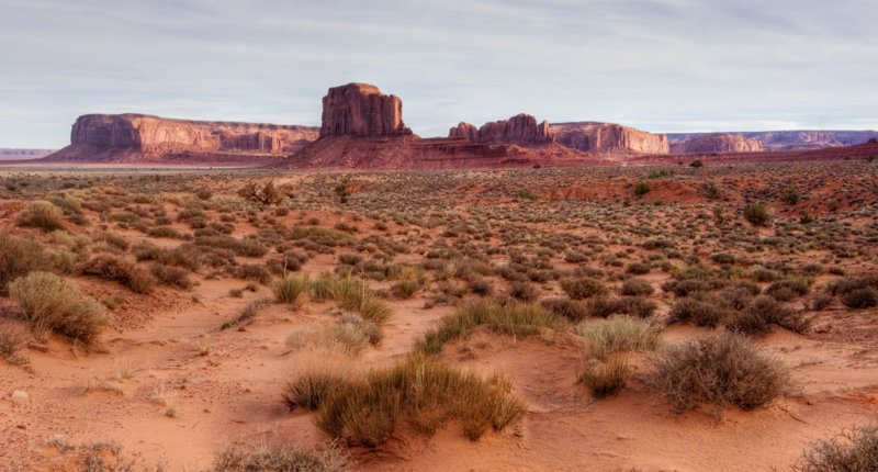 Monument valley, late afternoon _DSC6787