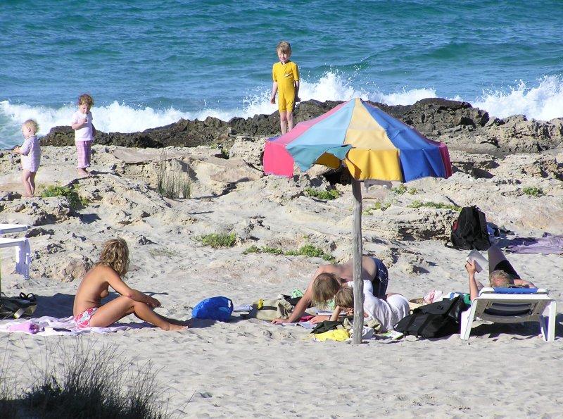 Babes at the Beach