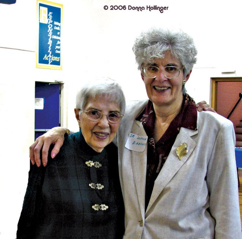 Lydia and Sister Joanna