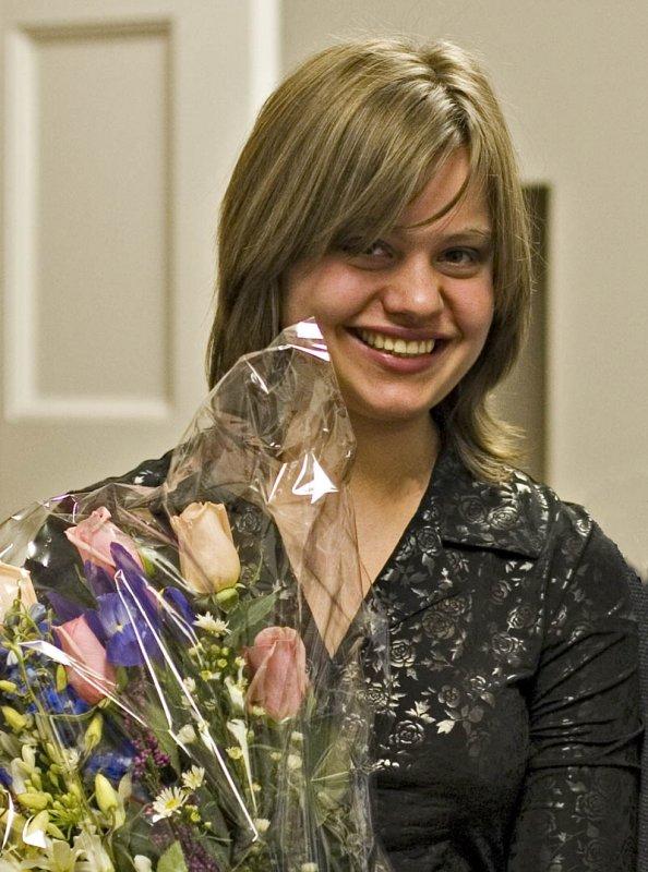 Very happy Masha
