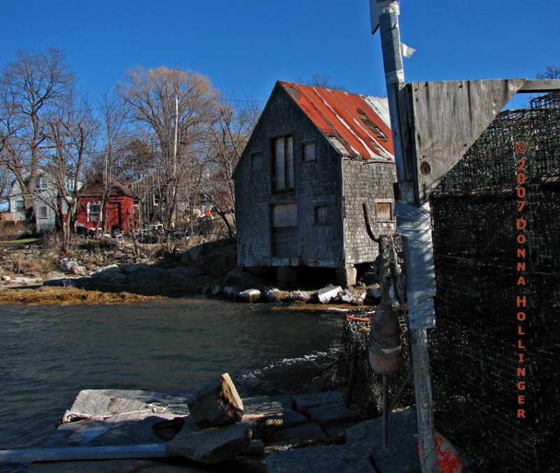 Abandoned Boathouse