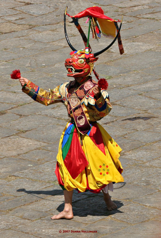 Cow Masked Dancer