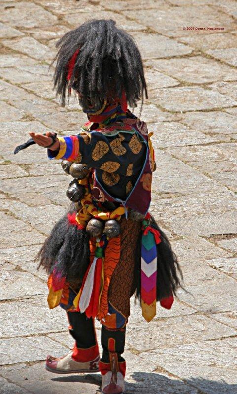 Black Masked Dancer