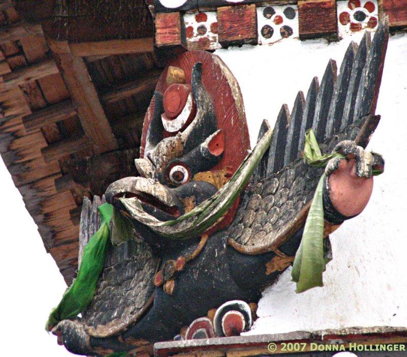 Bhutanese Temple Insignia