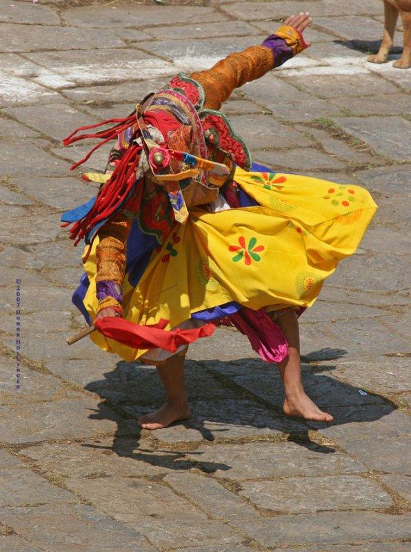 Barefoot Tiger Dancer