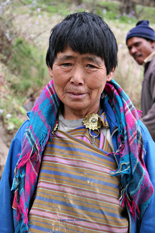 Bhutanese Road Worker