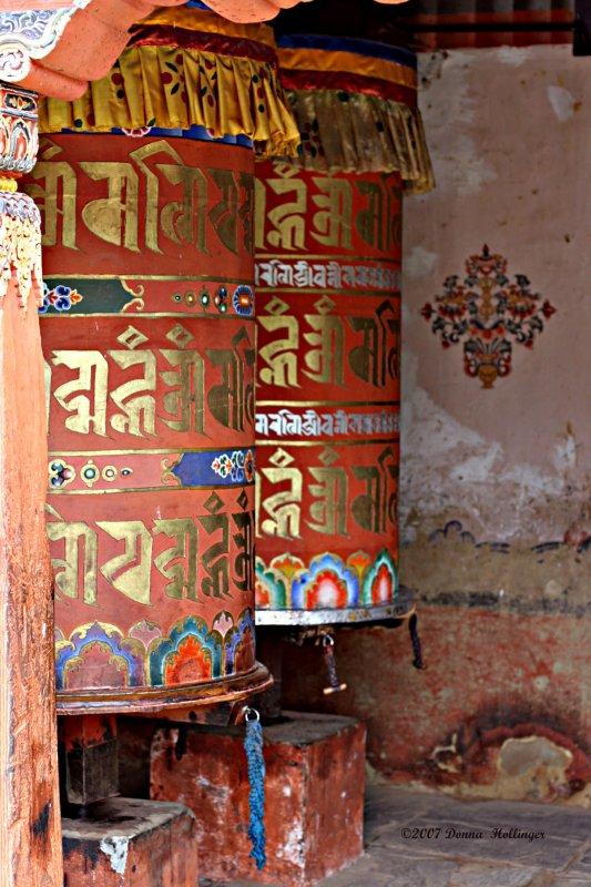 Giant Prayer Wheels
