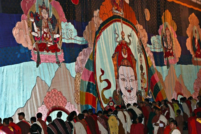 Portrait of Guru Rinpoche