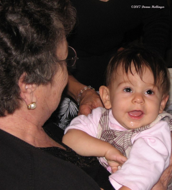 Lena with Great Granny