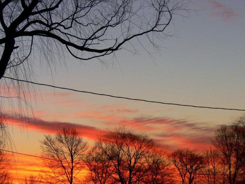 Dawn skyline - March 28-2007