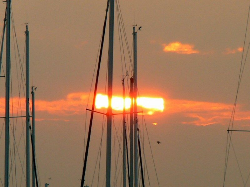 Sunrise at Port Credit Marina