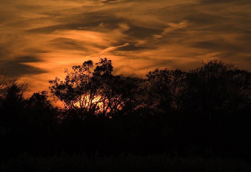 sunset,      November 1, 2006