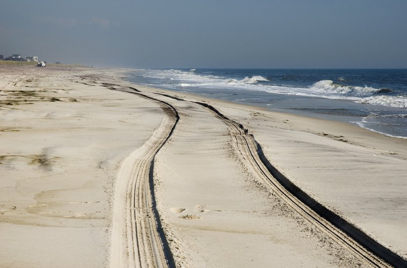 Road in the Sand