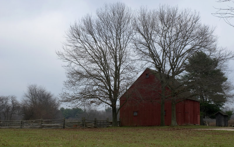 Winter on the Powell Farm