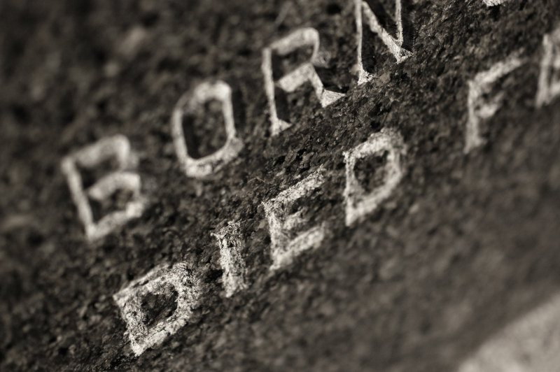 born died in stone