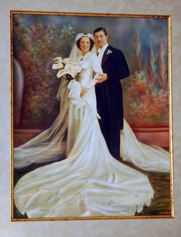 My Parents Wedding Photo