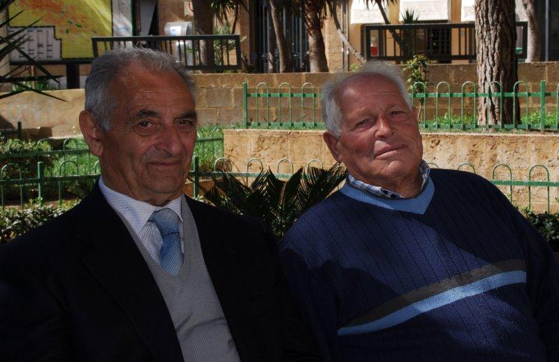 Sicilian Men in Agrigento