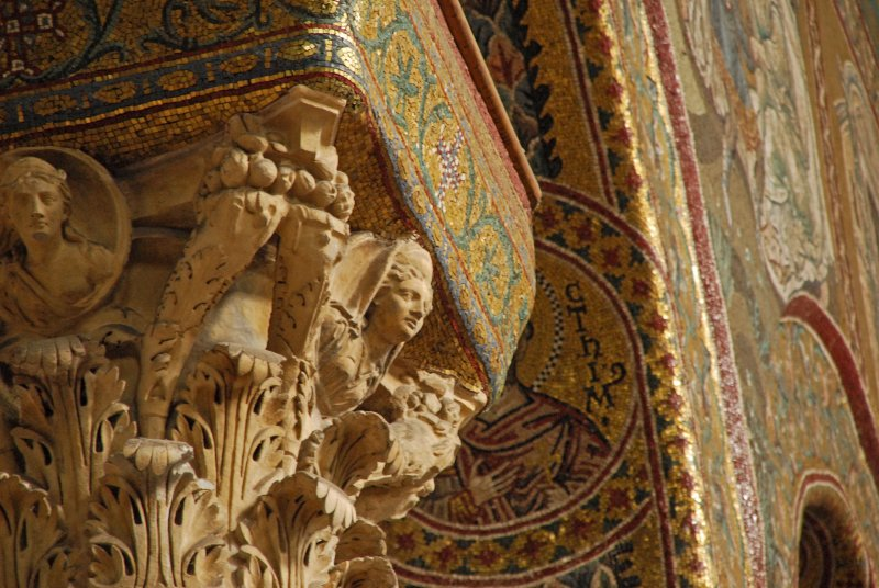 mosaics in Monreale