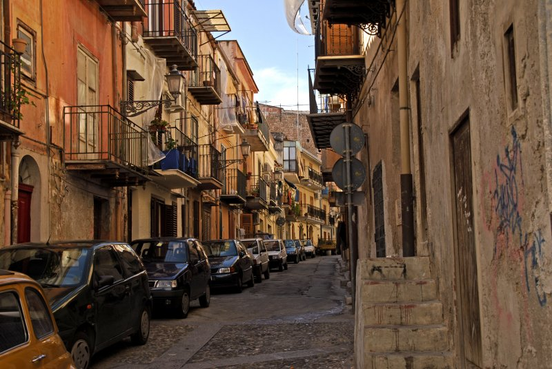 Narrow Street in Monreale