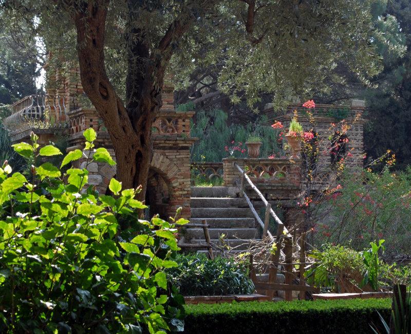 Public Gardens in Taormina